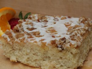 Coffee Cake with Cinnamon Struesel Topping