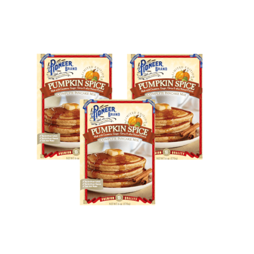 Pumpkin Spice Pancake Mix - Set of 3
