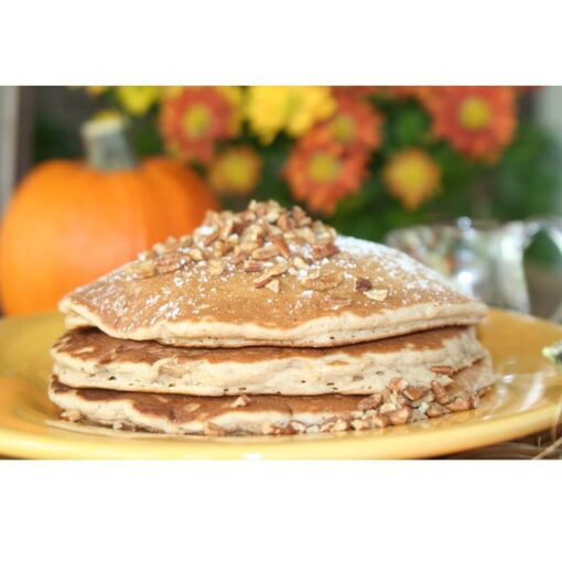 Stack of Pumpkin Spice Pancakes