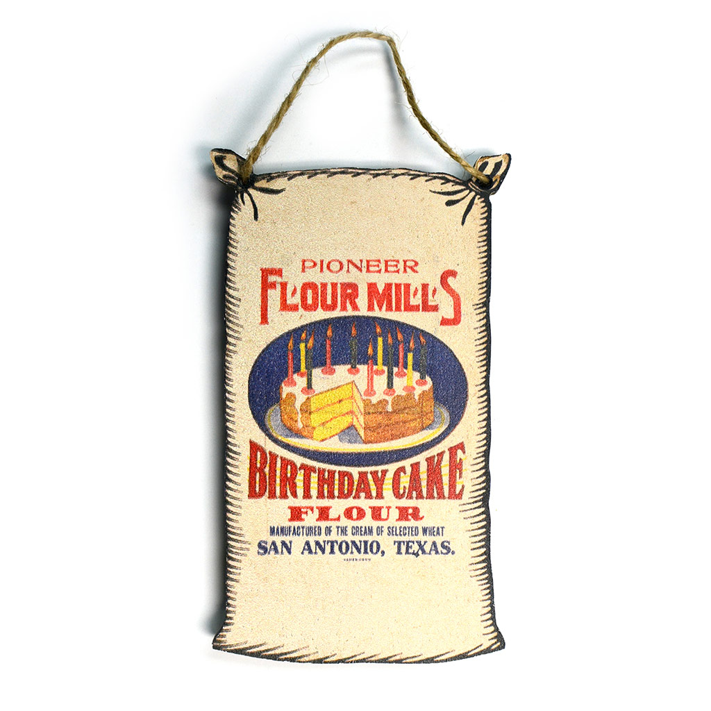 Superb Birthday Cake Flour Vintage Logo Wooden Ornament Guenther House Funny Birthday Cards Online Elaedamsfinfo